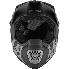 SixSixOne Reset Fullface Helm midnight black